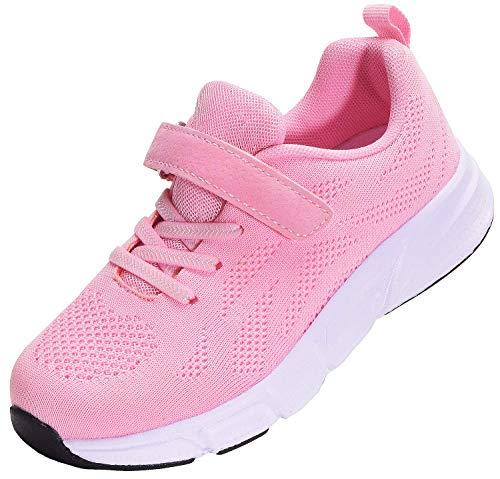 KVbabby Turnschuhe Kinder Sport Schuhe Outdoor Laufschuhe Jungen Mädchen Atmungsaktiv Sneaker Leichtgewicht 24 EU = Etikette 25