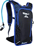 Hydration Pack Water Backpack with 70 Oz / 2L BPA-Free Bladder for Running, Ski, Hiking, Bike. Great...