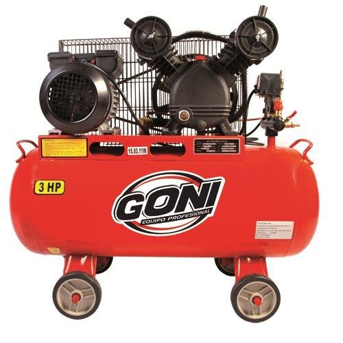 Compresor 60l marca Goni