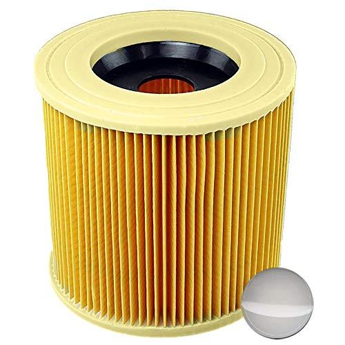 1x Patronenfilter Patronen Filter Staubsauger für Kärcher WD3 Premium WD2 WD3 WD 3 MV3 WD 3 P Extension KIT ersetzt 6.414-552.0, 6.414-772.0, 6.414-547.0
