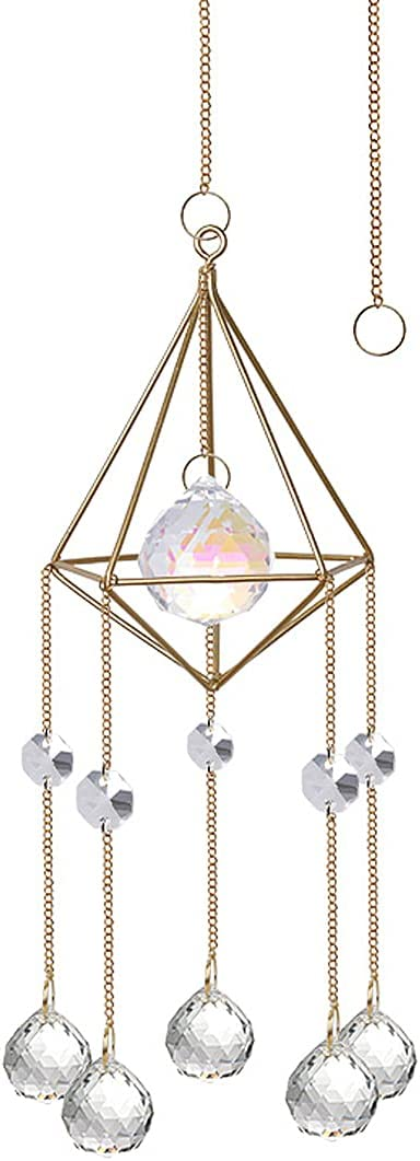 Crystals Sun Catcher Challenge the lowest price of Japan ☆ Hanging Suncatchers Chan Crystal AB Washington Mall Coating