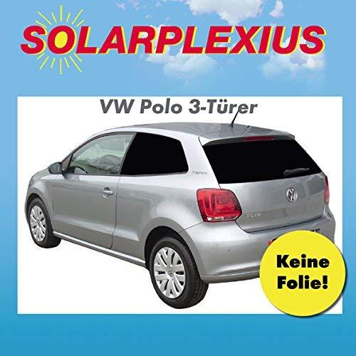 Solarplexius Sonnenschutz Autosonnenschutz Scheibentönung Sonnenschutzfolie 3-Türer Polo 5 6R Bj. 09-17