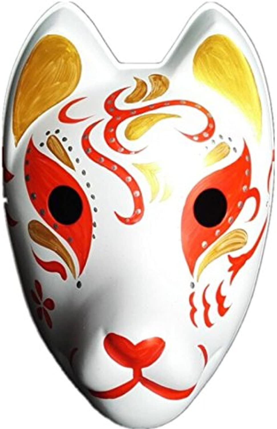 Mardi Gras Party Masquerade Mask,Firefly Forest Hand Painted Mask Full Face Mask Plastic HL22 Prom Masks