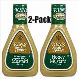 Ken's Steak House Honey Mustard Dressing 16 Oz (2 Pack)