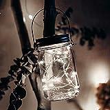 Yesheng Luces solares para jardín, 10 / 20 ledes, a prueba de agua, luces de hadas para exteriores, interior/exterior, para jardín, boda, Navidad, iluminación decorativa