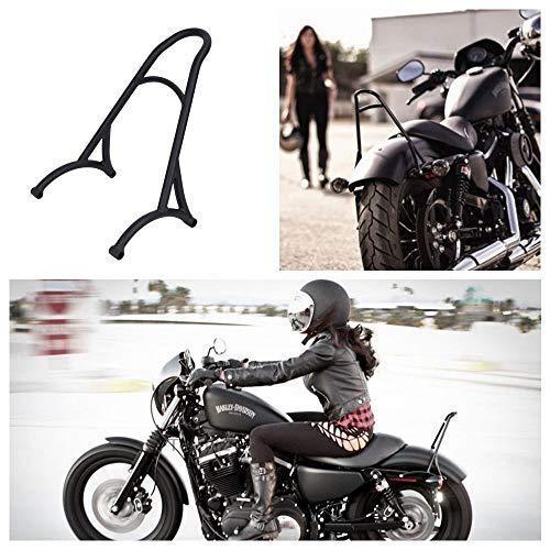 Redcolourful Burly Short Sissy Bar - Respaldo para Harley 48 Sportster 1200 883 72 04-16