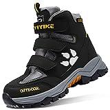 Botas de Senderismo Zapatos de Algodón Botas para la Nieve Botas de Invierno para Unisex Niños 182