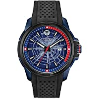Marvel by Citizen Eco-Drive Men's Spider-Man Black Strap Watch 44mm (AW1156-01W)