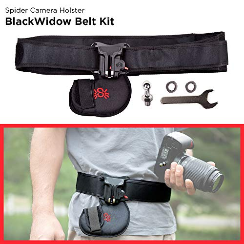 Spider Holster - BlackWidow Camera Holster Kit - The Best Carry Solution for Your Light Weight Camera!