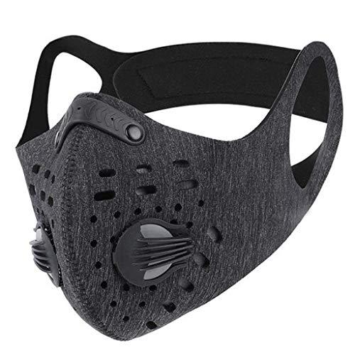3PCS Adult Breathable Mouth Mask Unisex Face Mask Protection Valve Mask