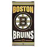 NHL Boston Bruins Strandtuch, Schwarz, 76,2 x 152,4 cm -