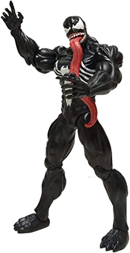 las mejores marcas venden barato WYZBD Juguete negro negro negro Veneno Spider-Man héroe Puede ser la Altura del Modelo de Marionetas en Movimiento Aprox. 18cm  ordenar ahora