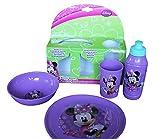 Disney - Disney Minnie Mouse - Children Melamine Tableware 4 Pieces Dinning Set