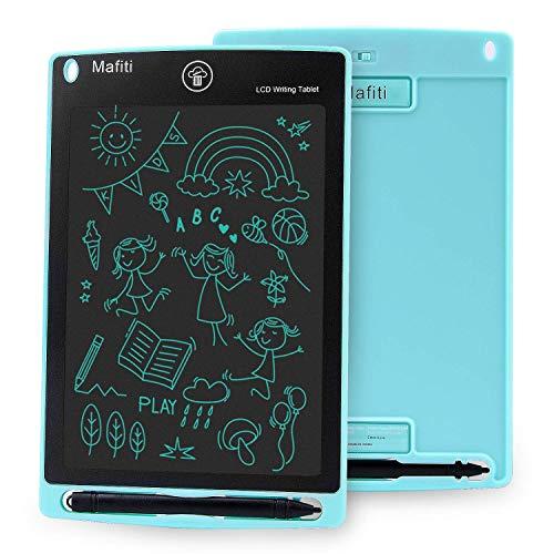 Mafiti 8,5 Pulgadas Tableta Gráfica, Tablets de Escritura LCD, Portátil Tableta de Dibujo Adecuada para el hogar, Escuela, Oficina (Cyan)