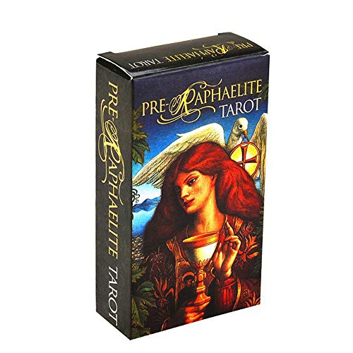 Pre-Raphaelite Tarot Cards Deck Oracles Divination Family Gathering Party Playing Card Games