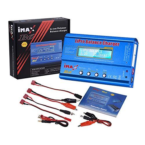 OUYAWEI Electrónica iMAX B6 80W 6A Cargador de batería Lipo NiMh Li-Ion...