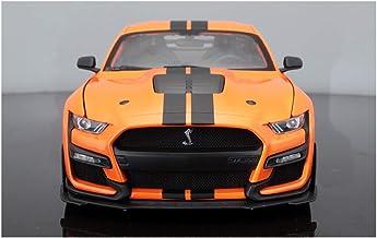 Proporción modelo de coche de una y dieciocho / Compatible con Ford Mustang Shelby Cobra Gt500 / cuatro ruedas de dirección Suspensión de ruedas Vinculación Decoraciones modelos de coches regalos
