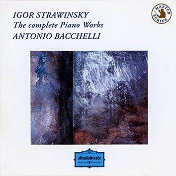 Igor Stravinsky: The Complete Piano Works