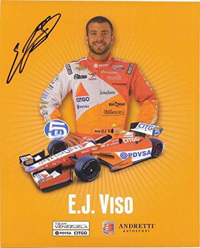 Signé Viso, E.J. 8 x 10 Promo Autographe