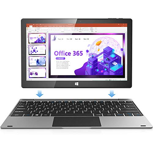 Jumper Touch Screen Laptop with Microsoft Office 365, 11.6 inch FHD 2 in 1 Laptop tablet (4GB DDR4...
