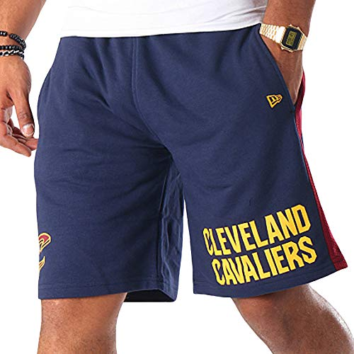 New Era - Pantaloncini da basket NBA Cleveland Cavaliers Marina Militare XL