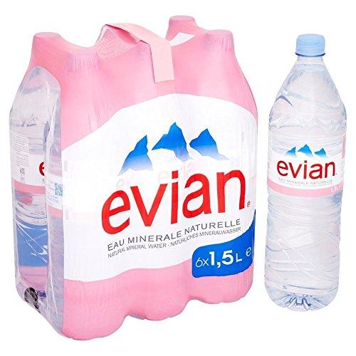 Evian 6 x 1,5l