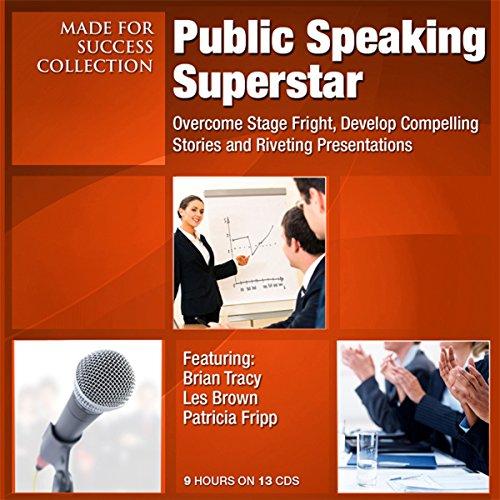 Public Speaking Superstar audiobook cover art