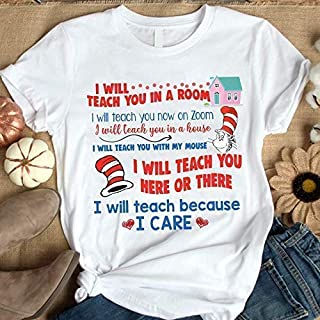 I Will Teach You In A Room T- Shirt I Will Teach You Now On Zoom Shirt, Funny I Will Teach You Here or There Shirt (5)