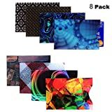 RFID Credit Card Blocking Protector Sleeves (8 Pcs) - Thin Security Sleeves