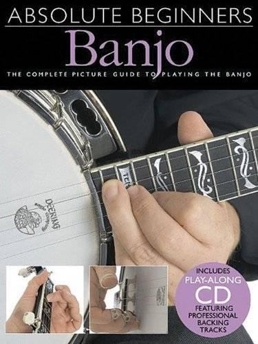 Absolute Beginners 5-string Banjo Book/Cd