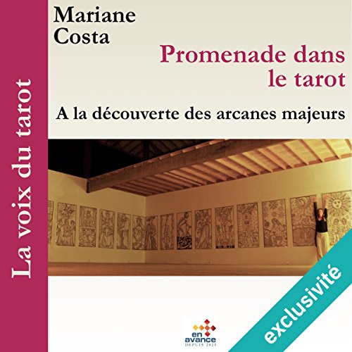 Couverture de Promenade dans le tarot : À la découverte des arcanes majeurs (La voix du tarot 1)