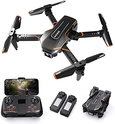 VISHALTA Drones for Kids with Camera FPV Wifi 720P HD Remote Control Helicopter Toys Gifts for Boys Girls