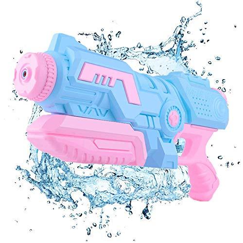 DYB Größte Wasserpistole Wasserpistole für Kinder und Erwachsene - Leistungsstarker Langstrecken-Super-Soaker - Wasserpistolen für den Pool Beach Sand Water Fighting Summer Blue-1000 ML