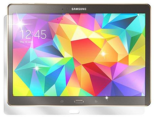 dipos I 3X Schutzfolie klar kompatibel mit Samsung Galaxy Tab S T800 / T805 (10,5 Zoll) Folie Bildschirmschutzfolie