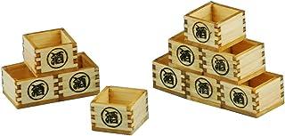 コバアニ模型工房 1/12 和の造作シリーズ 檜の酒枡 組み立てキット WZ-020