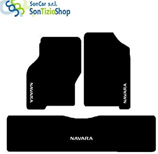 1998-2005 2016-in Poi 2005-2015 Colore Nero Grigio rmg-distribuzione 1801 Coprisedili per Nissan NAVARA compatibili con Modelli