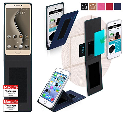 Hülle für Ulefone Gemini Tasche Cover Hülle Bumper | Blau | Testsieger