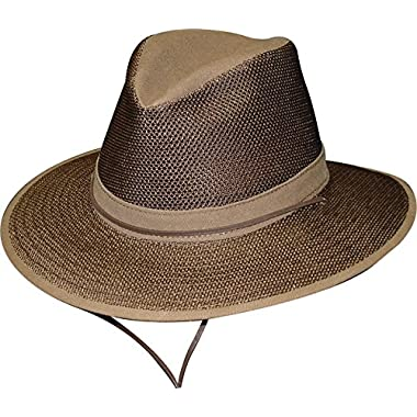 Henschel Hats Breezer Aussie Hat, Brown, 2X-Large