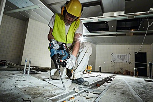 Bosch Professional GBH 36 V-LI Plus Akku-Bohrhammer, 2 x 4,0 Ah Akku, 36 V, L-Boxx, 0611906002