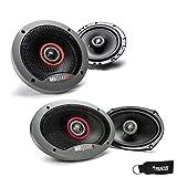MB Quart - Pair of Formula FKB116 6.5' Coaxial Speakers and A Pair of Formula 6x9 Speakers FKB169