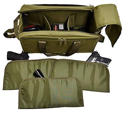 Explorer Large Padded Deluxe Tactical Range Bag - Rangemaster Gear Bag (TC08MultiPocketRange) from Explorer Tactical