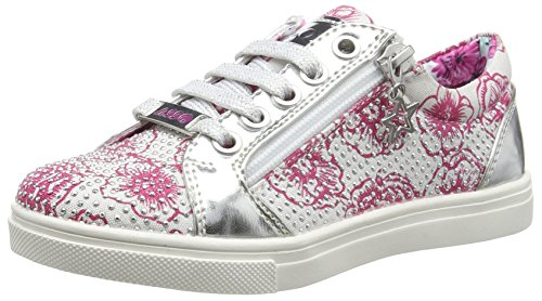 Asso 39205, Baskets Basses Fille, Blanc (White), 33