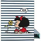 Mafalda 88142613 Colección Mafalda Carpeta de 4 Anillas Mix