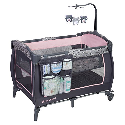 Baby Trend E Nursery Center, Starlight Pink