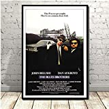 Poster Blues Brothers Weinlese-Film-TV-Serie Classic
