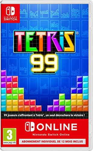 TETRIS 99 + 1 AN D'ABONNEMENT AU NINTENDO SWITCH ONLINE