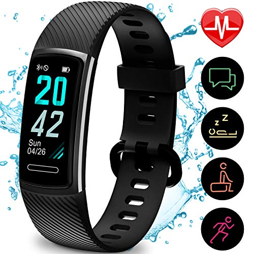 TEMINICE High-End Fitness Trackers HR, Activity Trackers Health Exercise Watch...