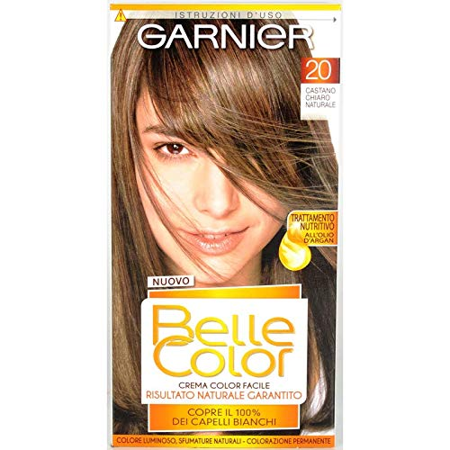 6 x Belle Color CR.Col.Châtain Clair Naturel 20