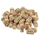 50 Piezas Corchos Vino Tapones,Corchos Vino Rectos,Botella De Corcho Natural,Decoración Corchos Vino Tapones,para Conservación y Sellado Botellas Vino e Ideas La Decoración Del Hogar