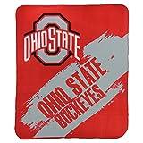 Northwest NCAA Collegiate School Logo Fleece Blanket (Ohio State Buckeyes, 50' x 60')